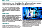 Optimization and Simulation Drive Process Improvement and Cost Reduction at a Biotech Manufacturer