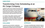 Transforming Crew Scheduling at an Air Cargo Company