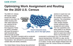 Optimizing Work Assignment and Routing for the 2020 U.S. Census