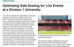 Optimizing Safe Seating for Live Events at a Division I University